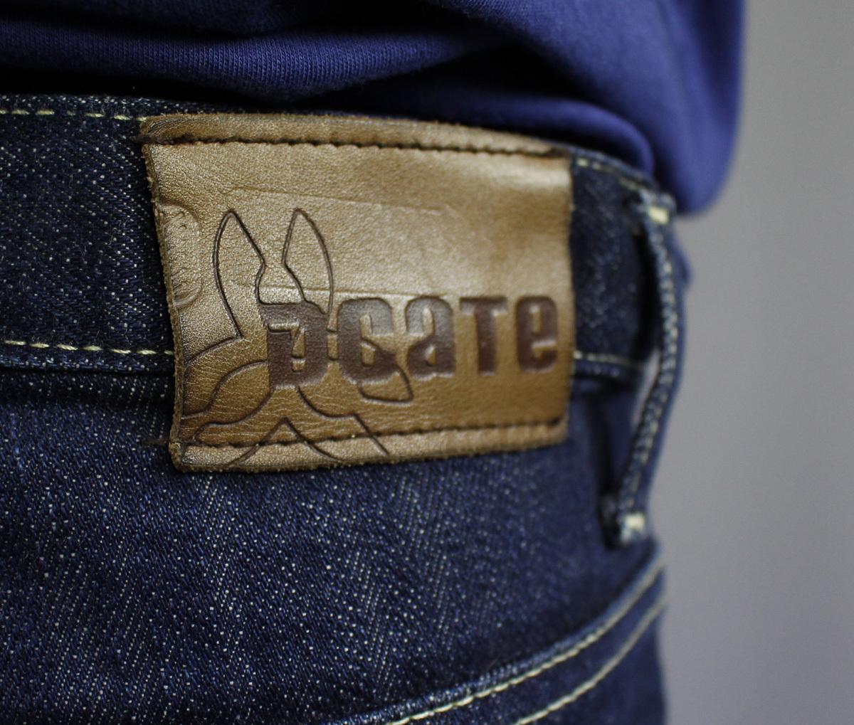 Avklippta Jeans Kille