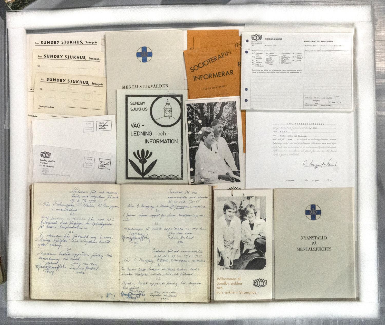 Sundby sjukhus, diverse broschyrer.jpg